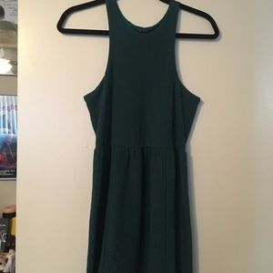 Free people formal green lace dress